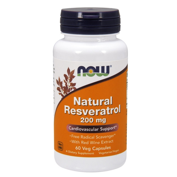 Mega Resveratrol 200mg w/Red wine
