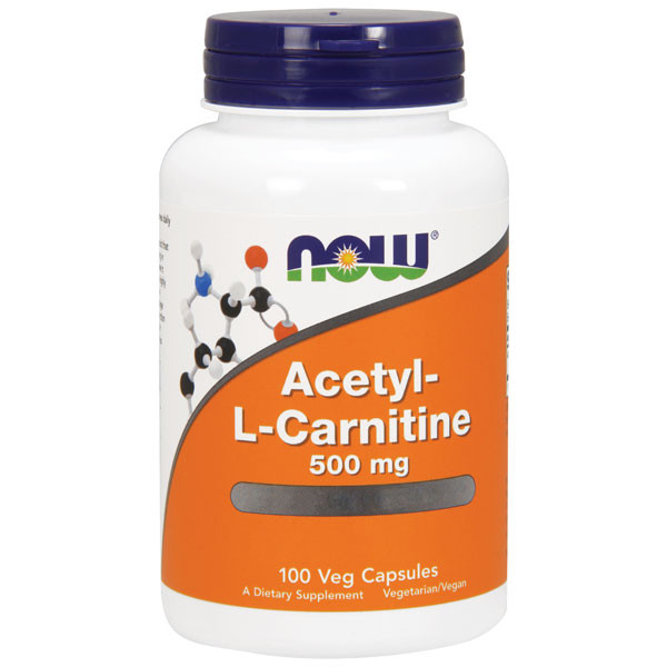Acetyl L-Carnitine 500mg 50 caps