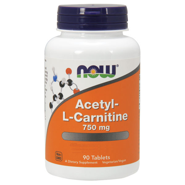Acetyl L-Carnitine 750mg 90 cpr