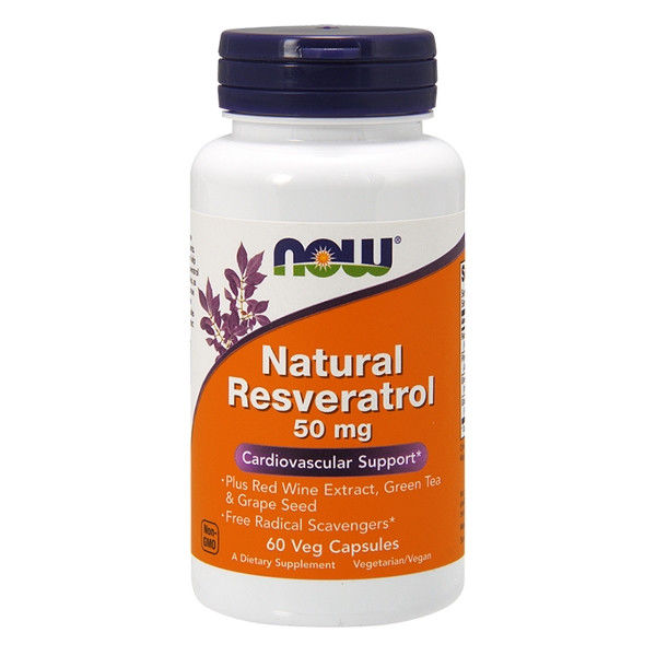Natural Resveratrol 50mg