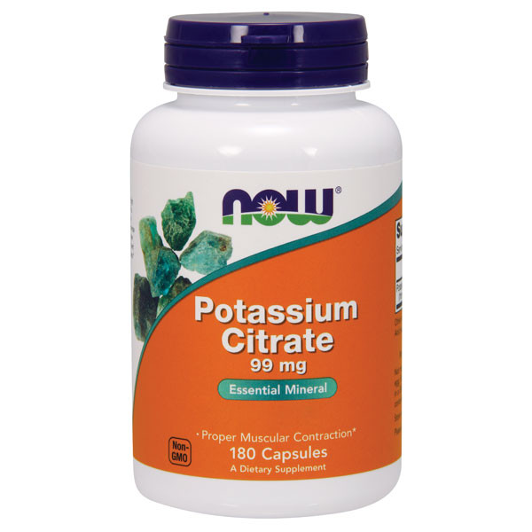Potassium Citrate 180 caps