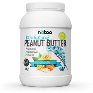 Natoo 100% Natural Peanut Butter 2kg