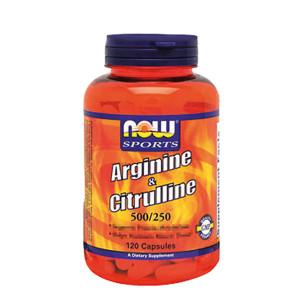 Arginine 500mg + Citrulline 250mg