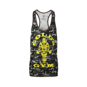 Gold's Gym Muscle Joe Premium Canottiera Camouflag