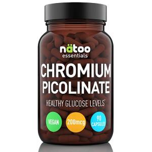 NATOO Essentials Chromium Picolinate 200mcg 90cps