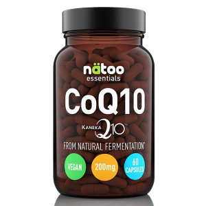Natoo Essentials CoQ10 200mg Kaneka 60cps