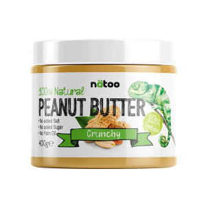 Natoo 100% Natural Peanut Butter Crunchy