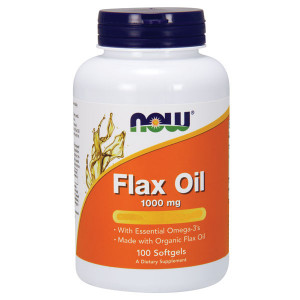 Flax Oil organic 1000mg