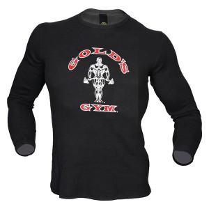 GG022 Gold's Gym T-Shirt manica lunga Classic