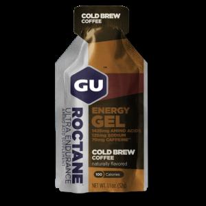 Roctane Energy Gel Cold Brew Coffee 70mg Caffeina