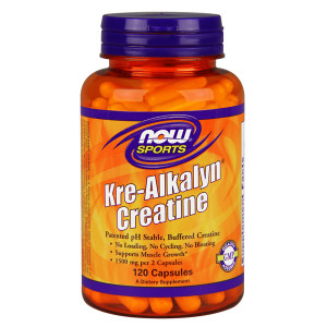 Kre-Alkalyn Creatine 750mg 120cps