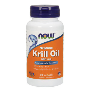Neptune Krill Oil 500mg  60 caps