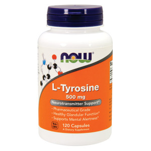 L- Tyrosine 500mg Free Form 120 cpr
