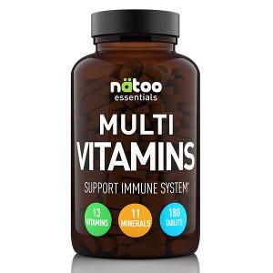 Natoo Essentials Multi Vitamins 180 cpr
