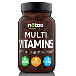 Natoo Essentials Multi Vitamins 60cpr