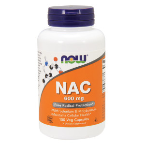NAC (N-Acetil Cisteina) 600mg 100 cps