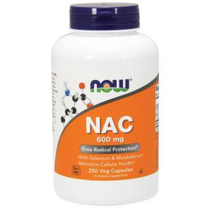 NAC (N-Acetil Cisteina) 600mg 250 cps