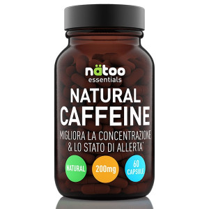 NATOO Essentials Natural Caffein 200mg  60cps
