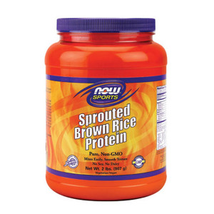 Sprouted Brown Rice Protein 907g