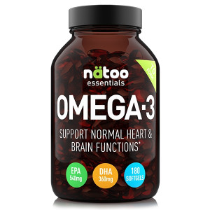 Natoo Essentials Omega 3 180gels
