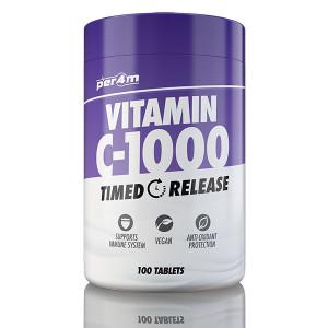 PER4M Vitamin C-1000mg  TR 100 tabs