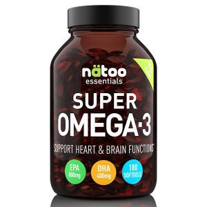 Natoo Super Omega 3 180gels