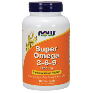 Super OMEGA 3-6-9 120mg 180 cps