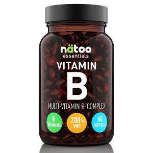 Natoo Essentials Vitamin B Complex 60 softgels