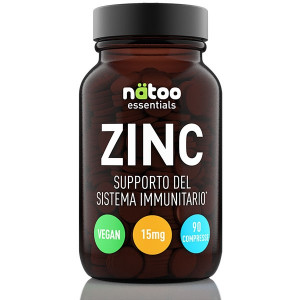 NATOO Essentials ZINC 15mg 90tabs