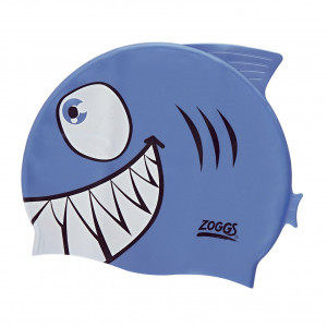 Cuffia in silicone Junior - Blue Jaws